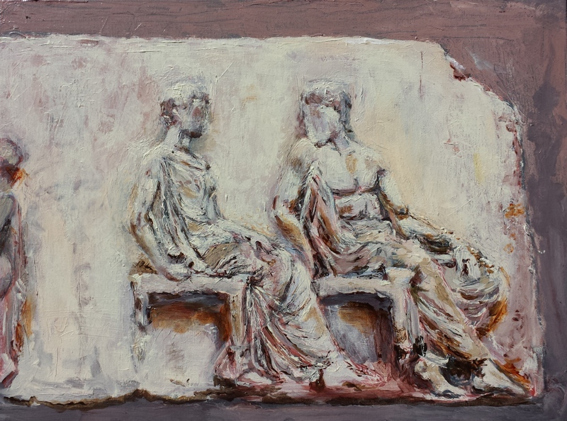Old Stones Dialogue: Athena and Hephaestus