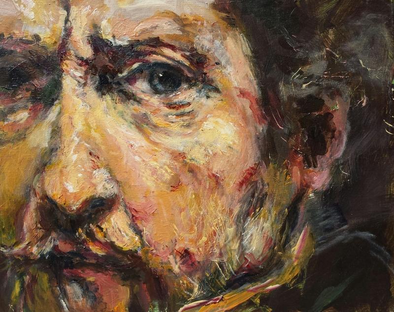 Antique Faces 2: Rembrandt's Cheek