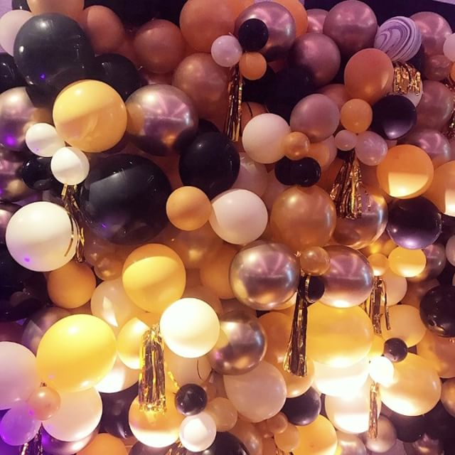 We could probably stare at this @balloonmonster.la wall all day. #😍 #🎈#balloonwall #latergram