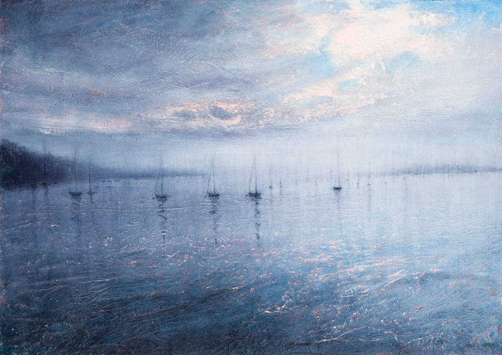 Harbour Morning    90cm x 60cm