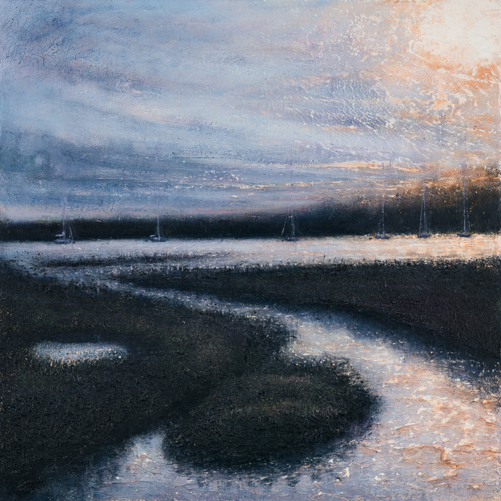 Wivenhoe Afternoon 51cm x 51cm