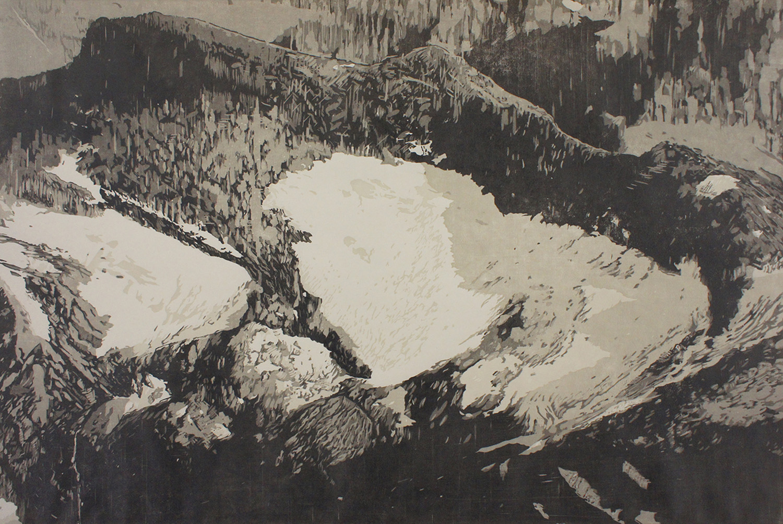 Swiftcurrent Glacier – The Last Glacier (Detail)