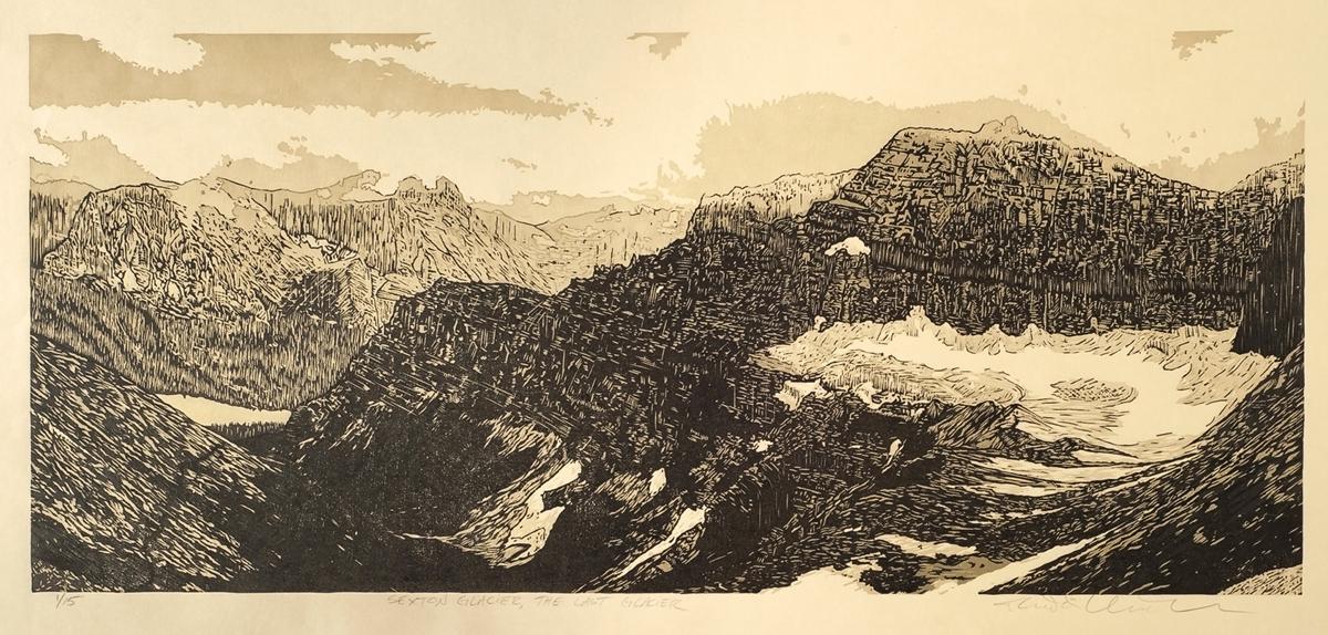 Sexton Glacier – The Last Glacier (Detail)