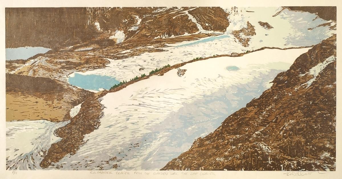 Salamander Glacier – The Last Glacier (Detail)