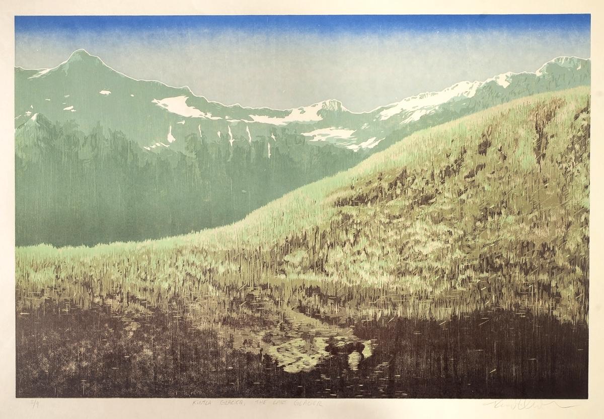 Kintla Glacier – The Last Glacier (Detail)