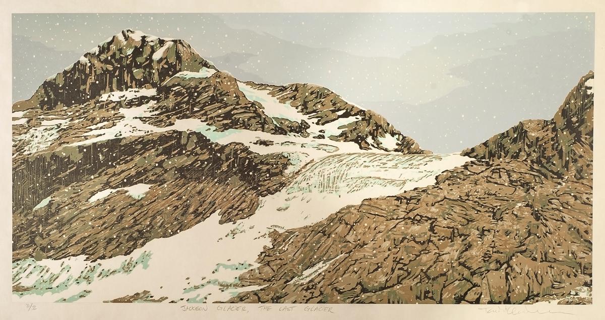 Jackson Glacier – The Last Glacier (Detail)