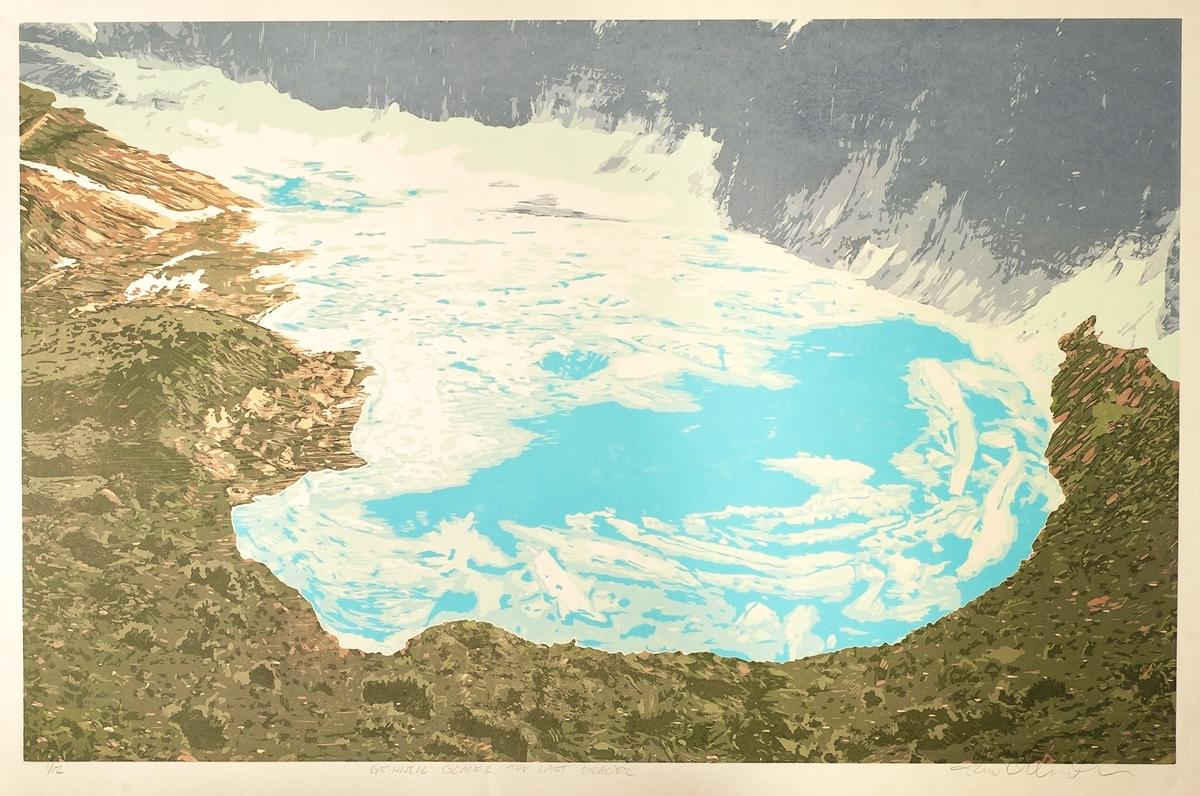 Grinnell Glacier – The Last Glacier (Detail)