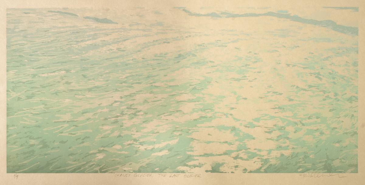 Chaney Glacier – The Last Glacier (Detail)