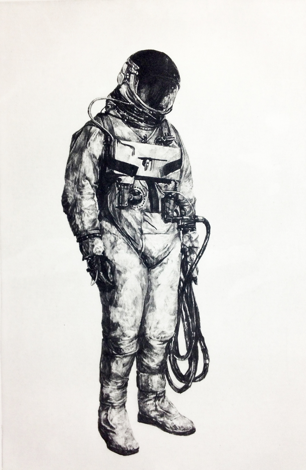 Everything Will Be OK, 1969 polymer etching 22 x 16 inches JKO 012G
