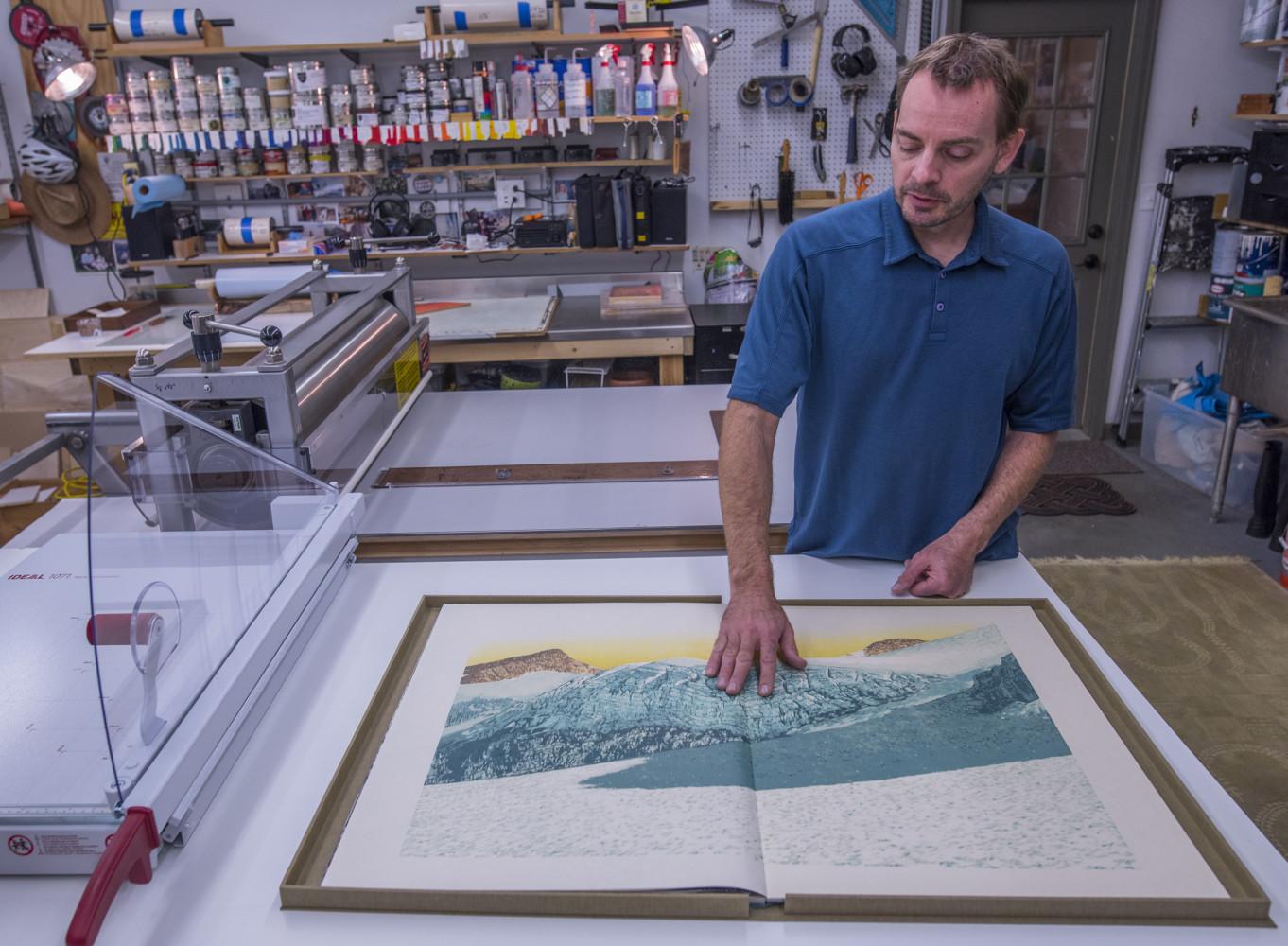The Last Glacier book