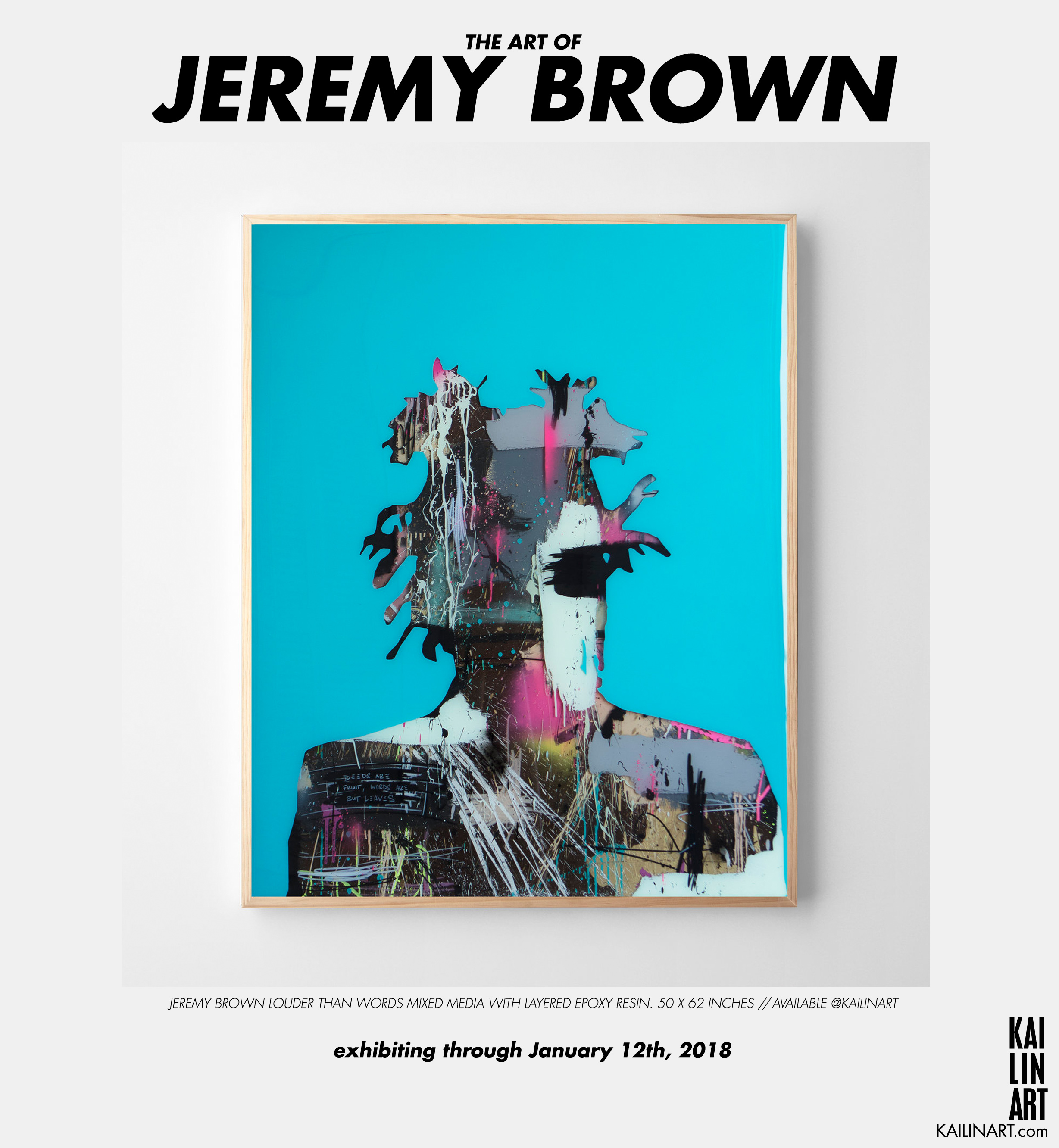 THE ART OF JEREMY BROWN