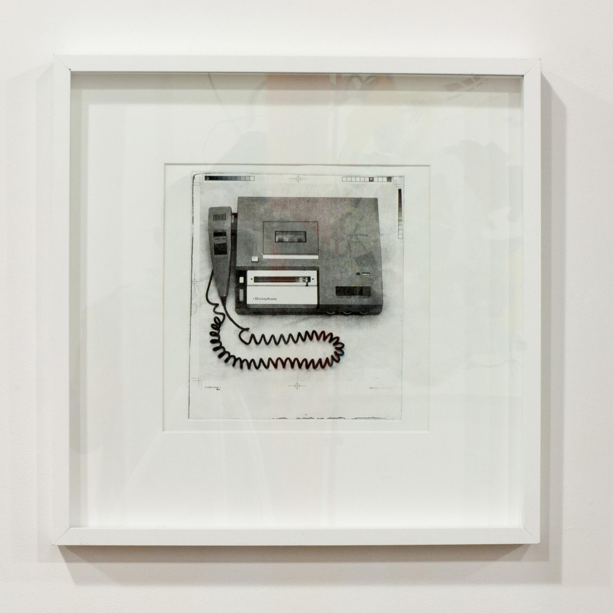 1979 (Dictaphone) photogravure 12 x 12 inches JKO 092G