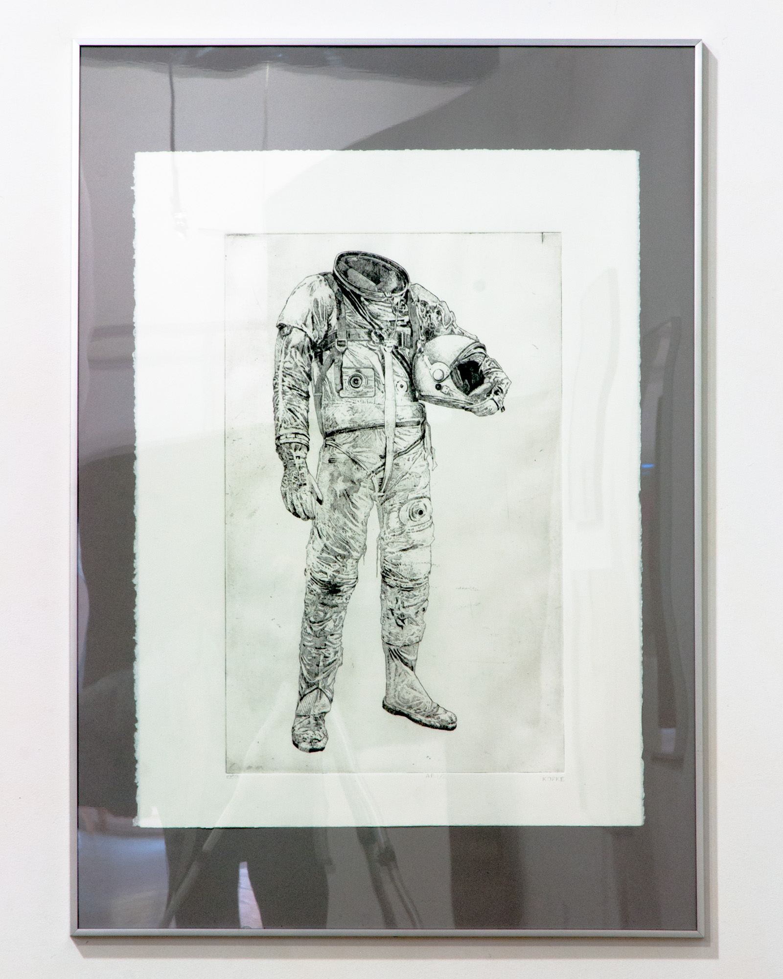 1959 (Mark IV) etching 22 x 30 inches JKO 099G
