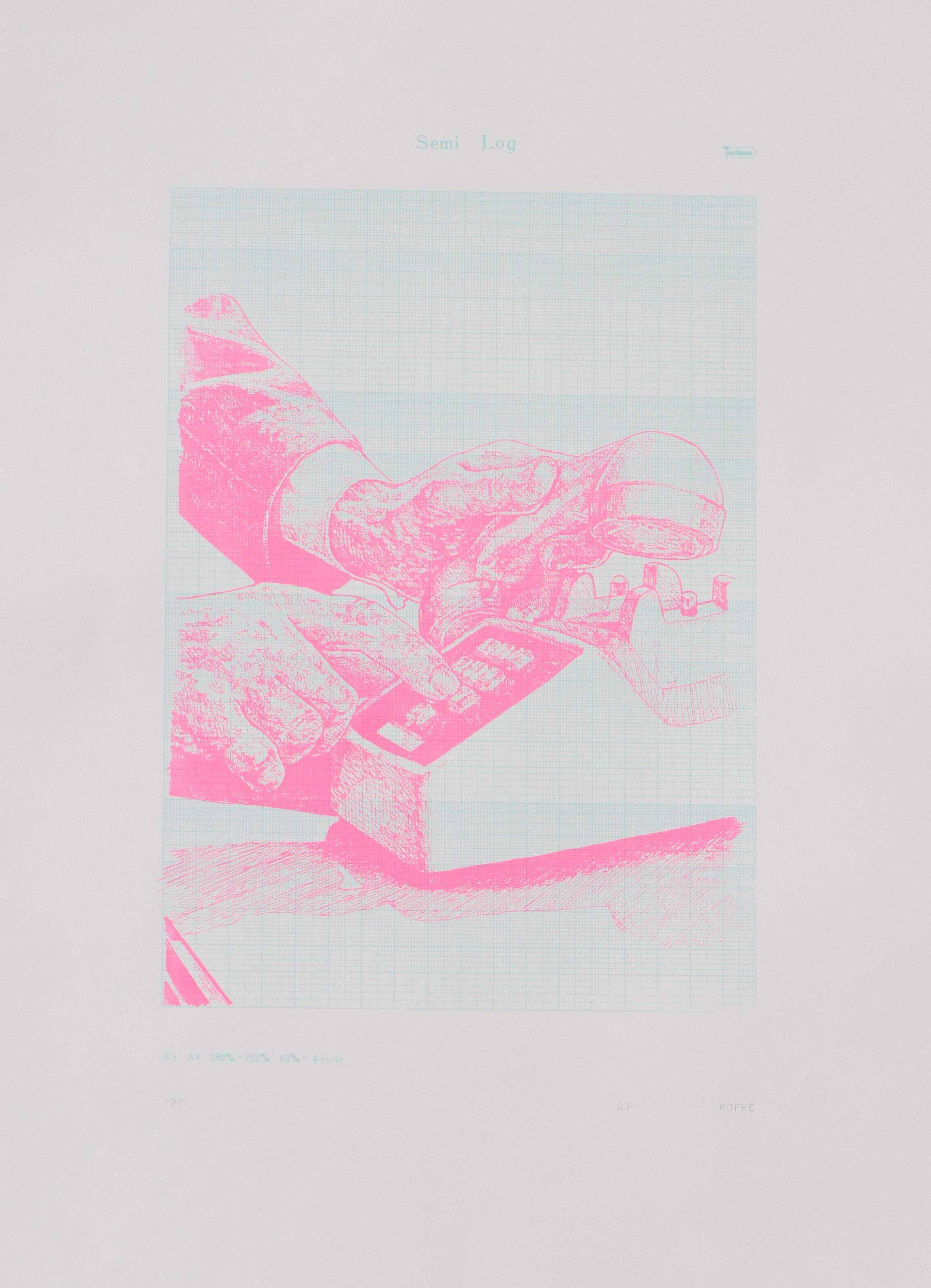 1971 screenprint on paper 35 x 25 inches JKO 095G