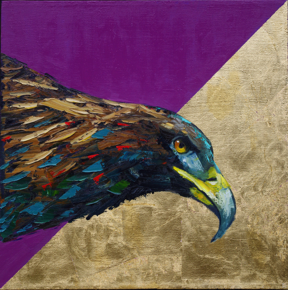Preying For Gold -24x24inches-oil and gold_leaf on linen-1150.jpeg