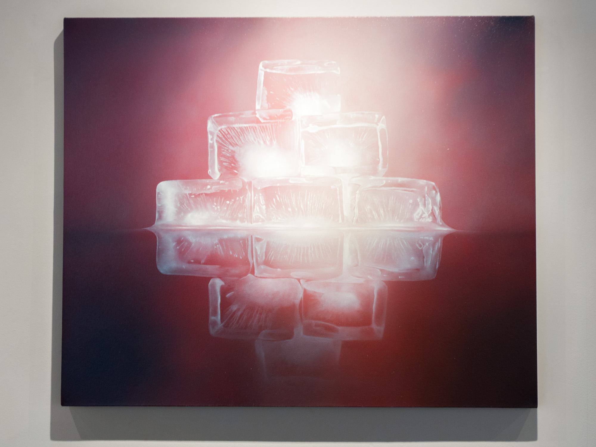 Kevin Palme Red Empire oil on canvas 38 x 46 inches KPA 010G