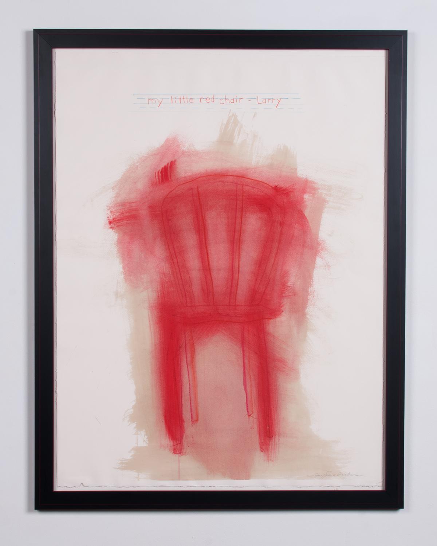 Red-Chair-acrylic-prisma-pencil-on-Rives-BFK-45.5-x-33.5-LJA-151G.jpg