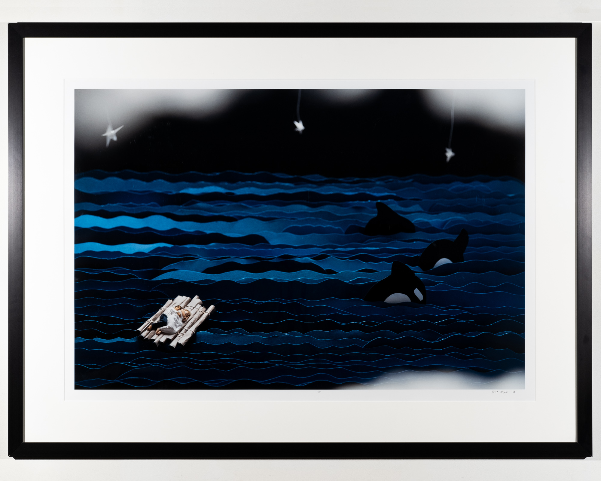 Floating    Archival Pigment Print   54 x 41 inches PHE 125G