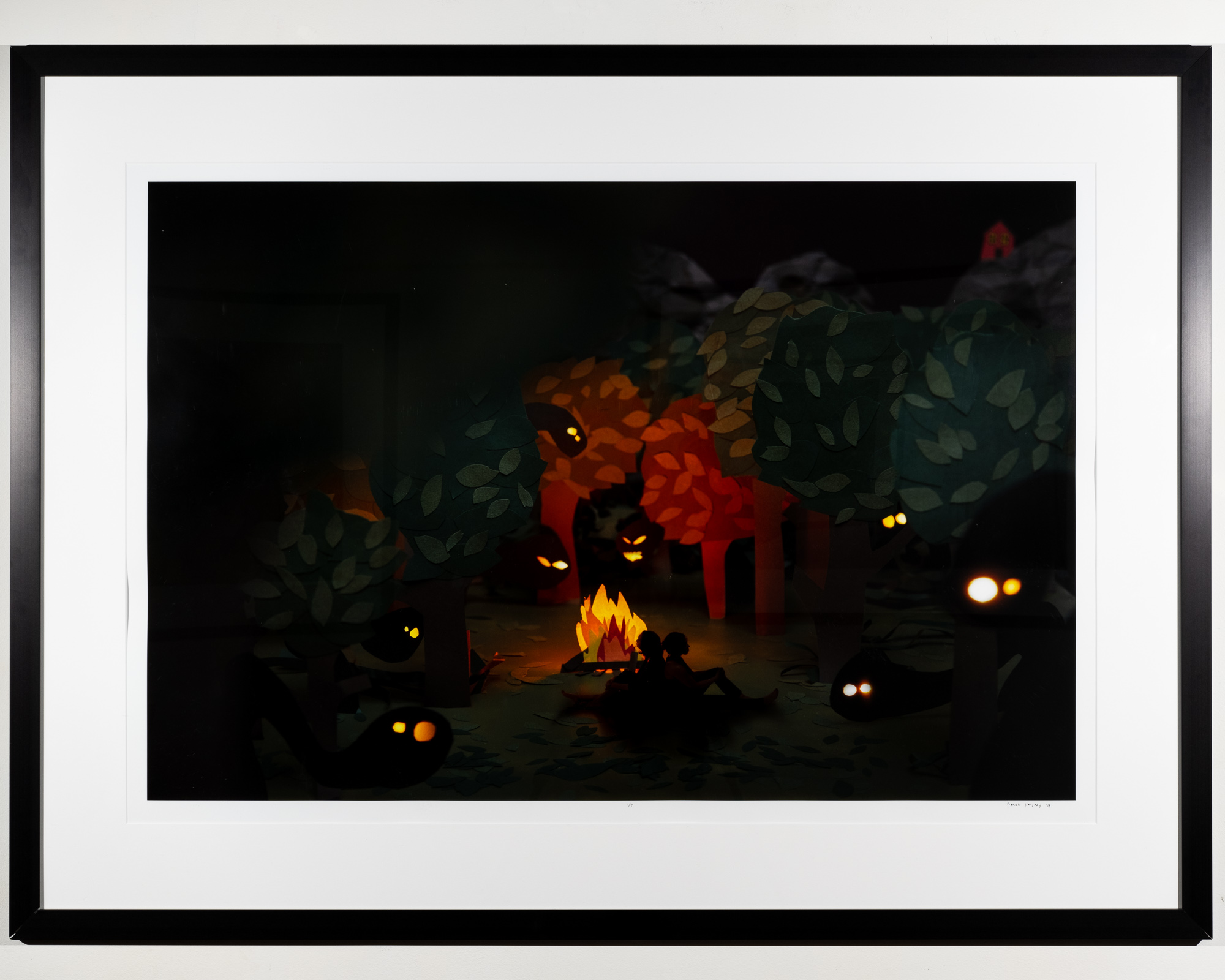 The Night is Long   Archival Pigment Print  54 x 41 inches PHE 126G