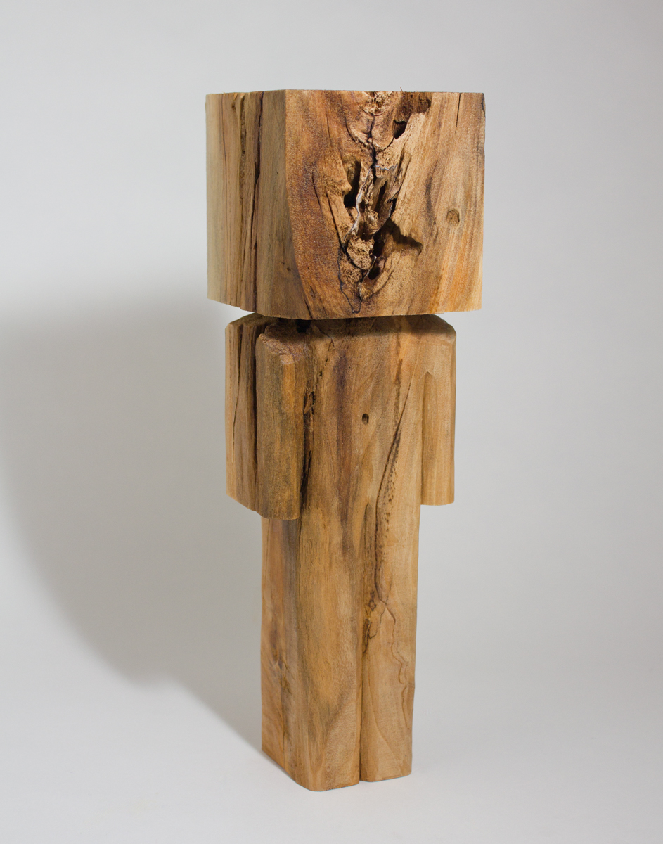 Homegrown    cottonwood  3.5 x 2.25 x 14 inches  CSK 044G
