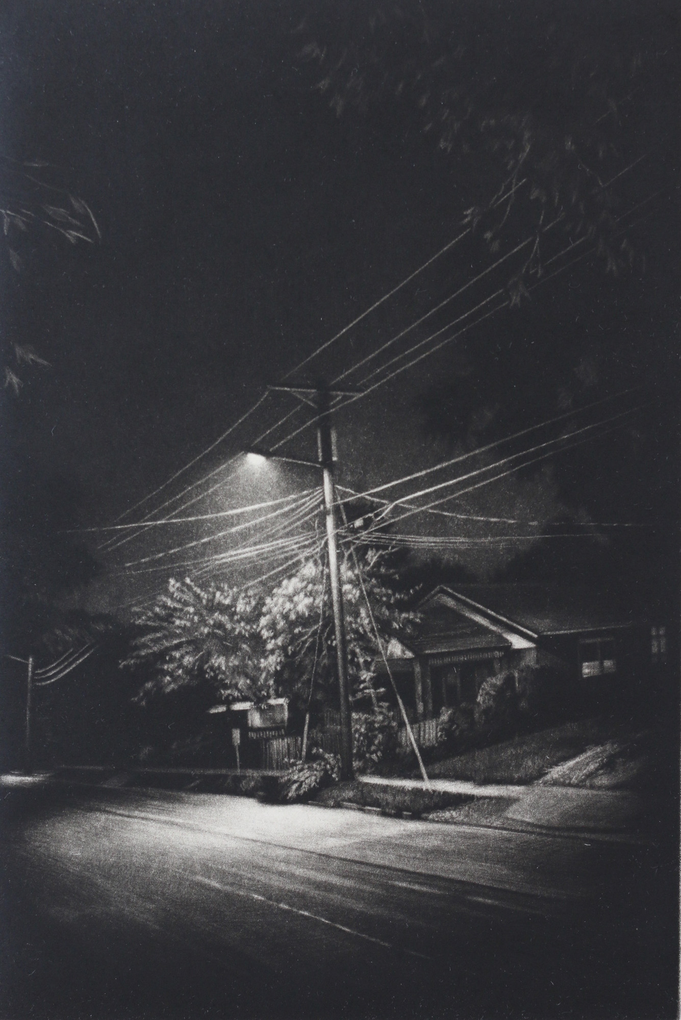 Jacob Crook   Beacon II  Mezzotint 9 x 6 Inches, APS 211G