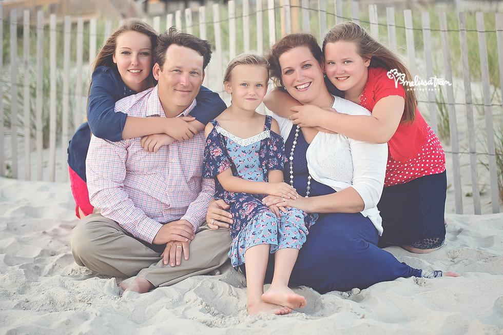 family beach photos ocean isle north carolina melissa treen photography