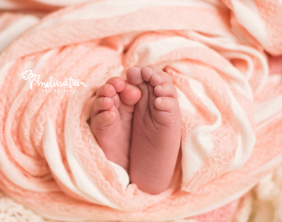 Tiny little baby toes are something we love to capture during our custom styled newbron portrait sessions.  Those little details, like teeny, tiny toes and sweet feet are important to capture to remember just how little baby is at that very moment.  Our Baby Portrait Plan is the best way to capture these details and many others while highlighting the milestones of baby's first year!  Contact us for more details...