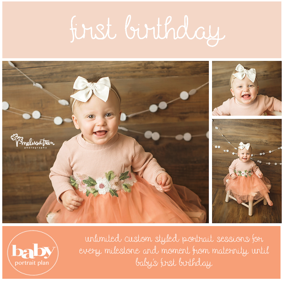 First Birthday Photo Shoot Greensboro, Burlington, Chapel Hill Winston Salem, Durham North Carolina