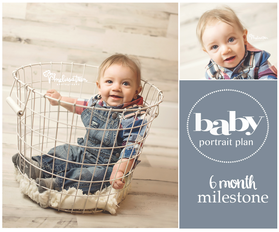 6 month milestone > Greensboro Baby, Newborn, Family Photography