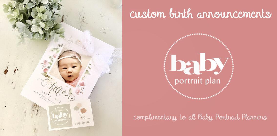 durham newborn photographer elon mebane burlington custom birth announcements.jpg