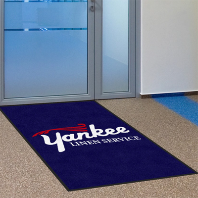 Logo Mat    Custom logo mats to enhance the image of your business and will also keep your floors clean.     All sizes available for purchase