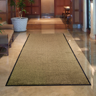 Classic Mat    Available in the following colors:    Chocolate,Ruby, Forest green and Black    Standard Sizes:    3' x 5', 3' x 10'    4' x 6', 4' x 8'    Custom Sizes: Available for purchase