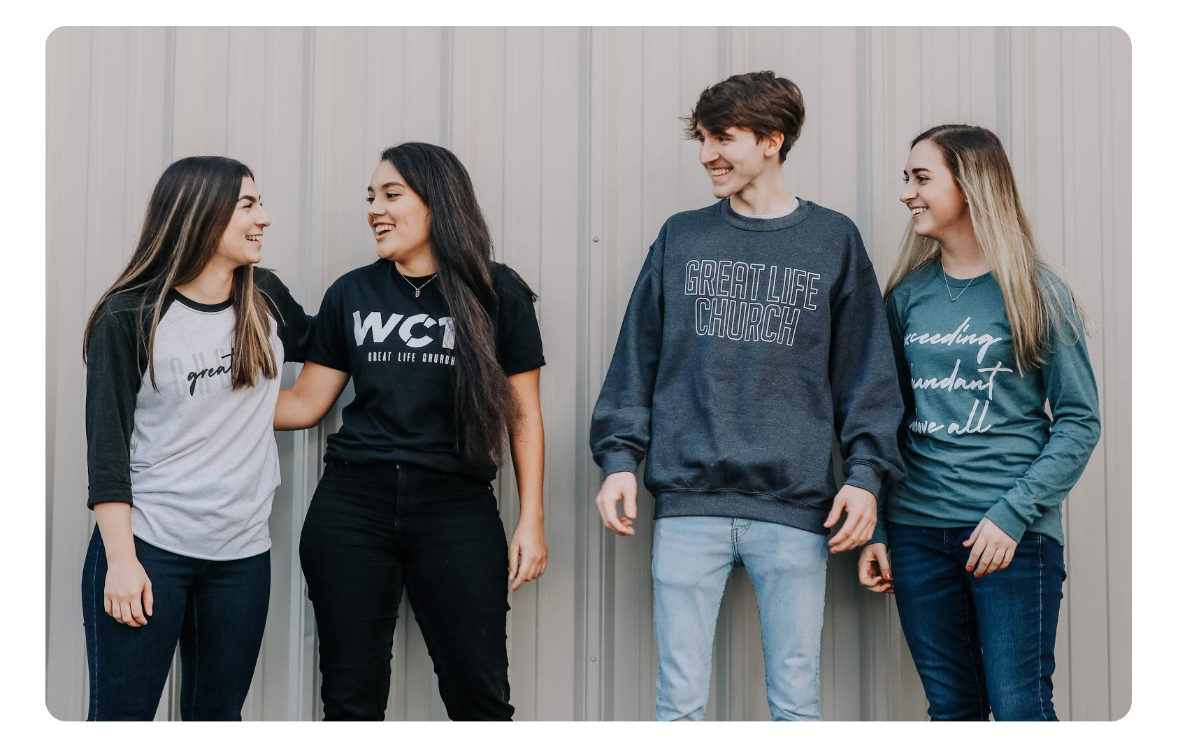 Great Life Youth - We are passionate about seeing our students make an impact! Click here to learn about our weekly ministries & crews we have for 6th-12th grade!