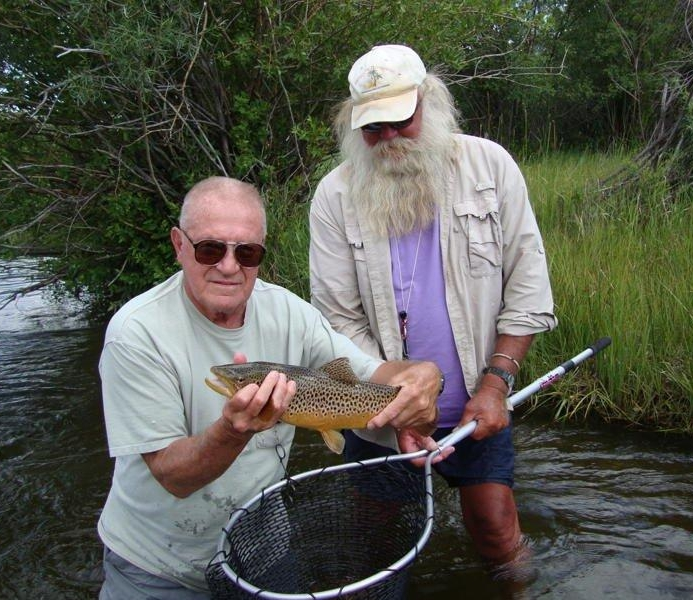 Tim was one our first guides, starting way back in 1981. He knows the Beaverhead inside and out and offers a wealth of flavor and knowledge about all things fishing and many things non-fishing as well.