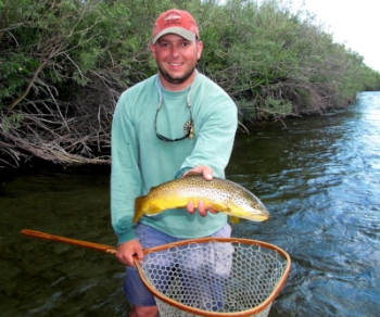 Mike Hails from New Jersey, but his enthusiasm for fishing, bird hunting, and his Brittany, Mickey Finn, show he's Montana through and through. Having spent the last 7 years in southwest Montana, you won't find a more fun-loving, knowledgeable guy to spend your day with.