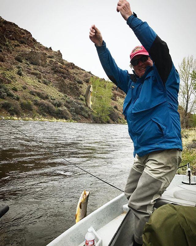 A true double! #flyfishing #montana #406