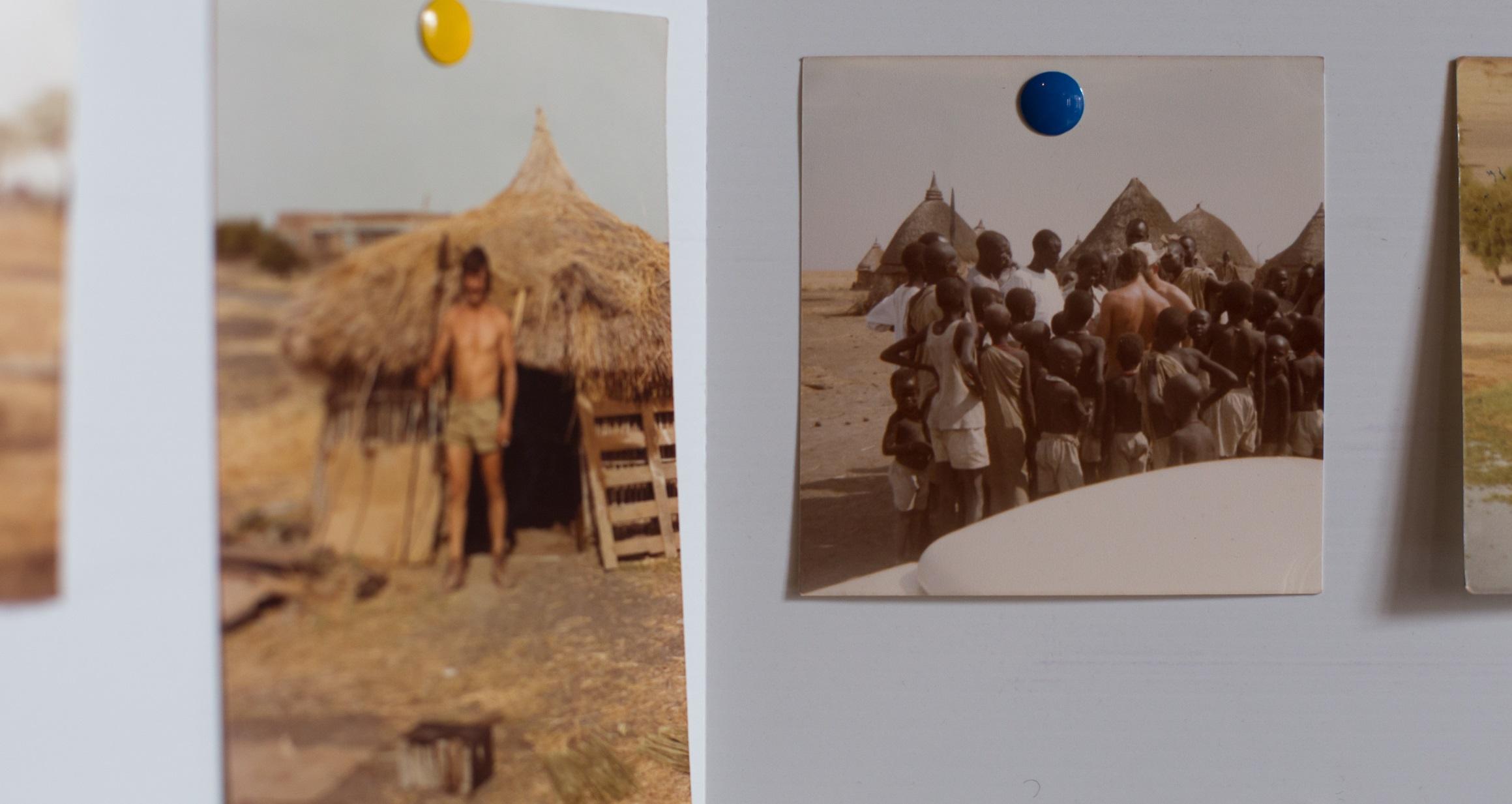 En visite chez les Dinka, Tanzanie, années 80