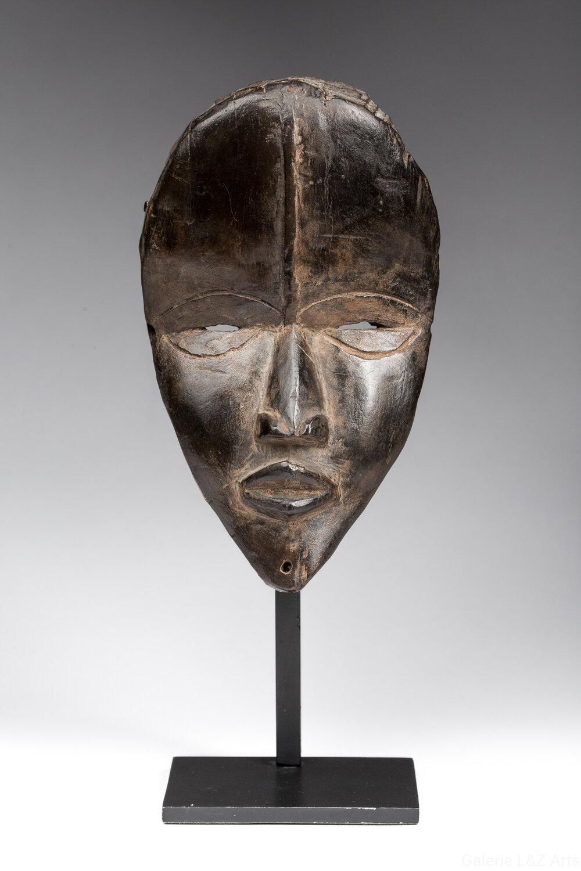 Pendentif Masque Ashanti tribal art africain  tribal figurine en laiton   F4
