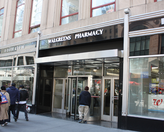 walgreen -  empire state building