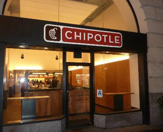 chipotle -  broadway, NYC