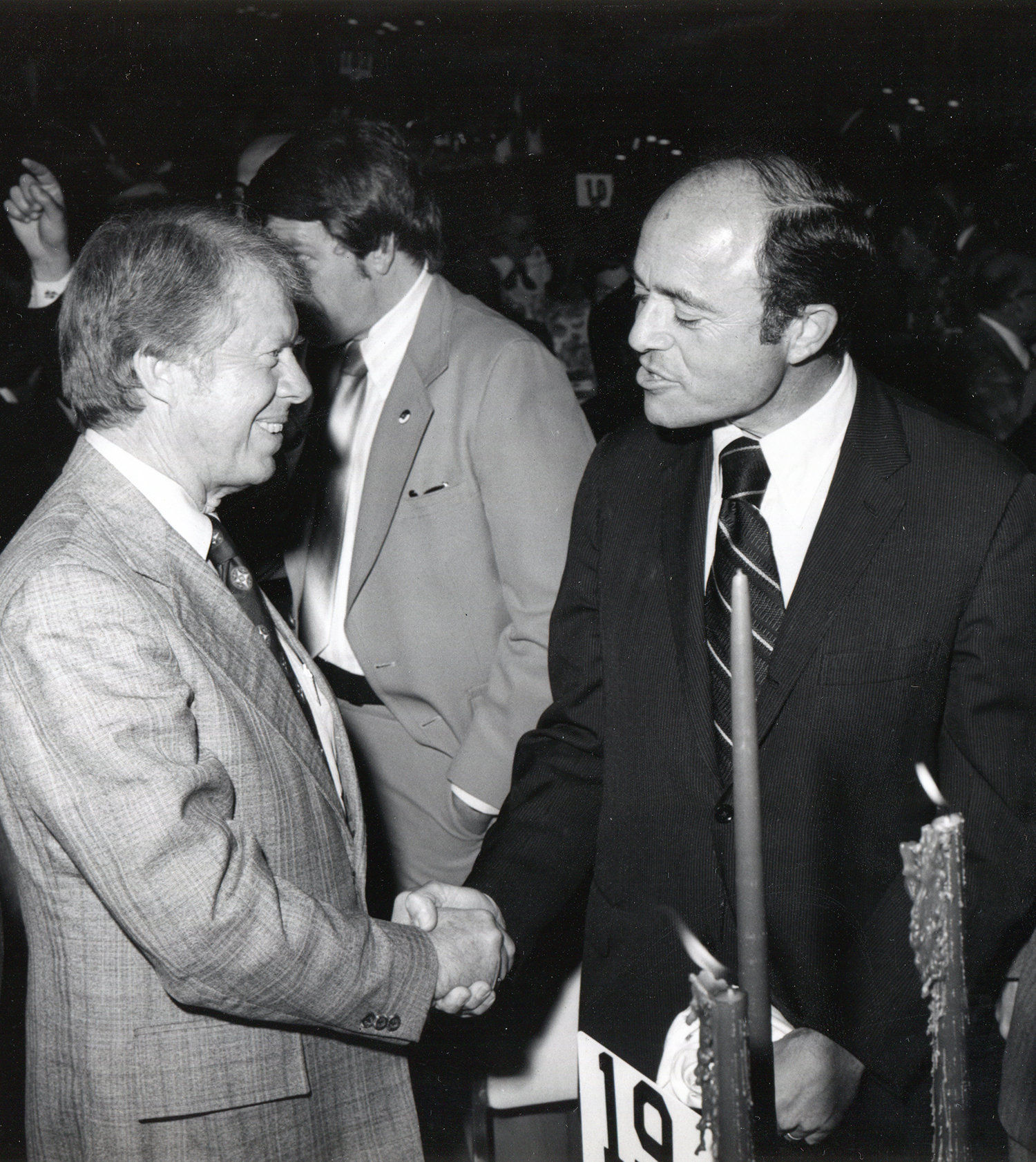 Leonard Beerman with President Jimmy Carter