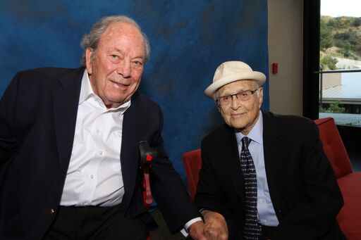 Reverend George Regas and Norman Lear