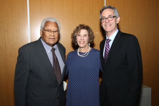 Reverend James Lawson, Joan Beerman, David Myers
