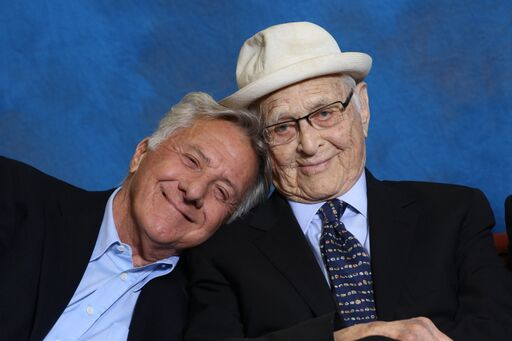 Dustin Hoffman and Norman Lear