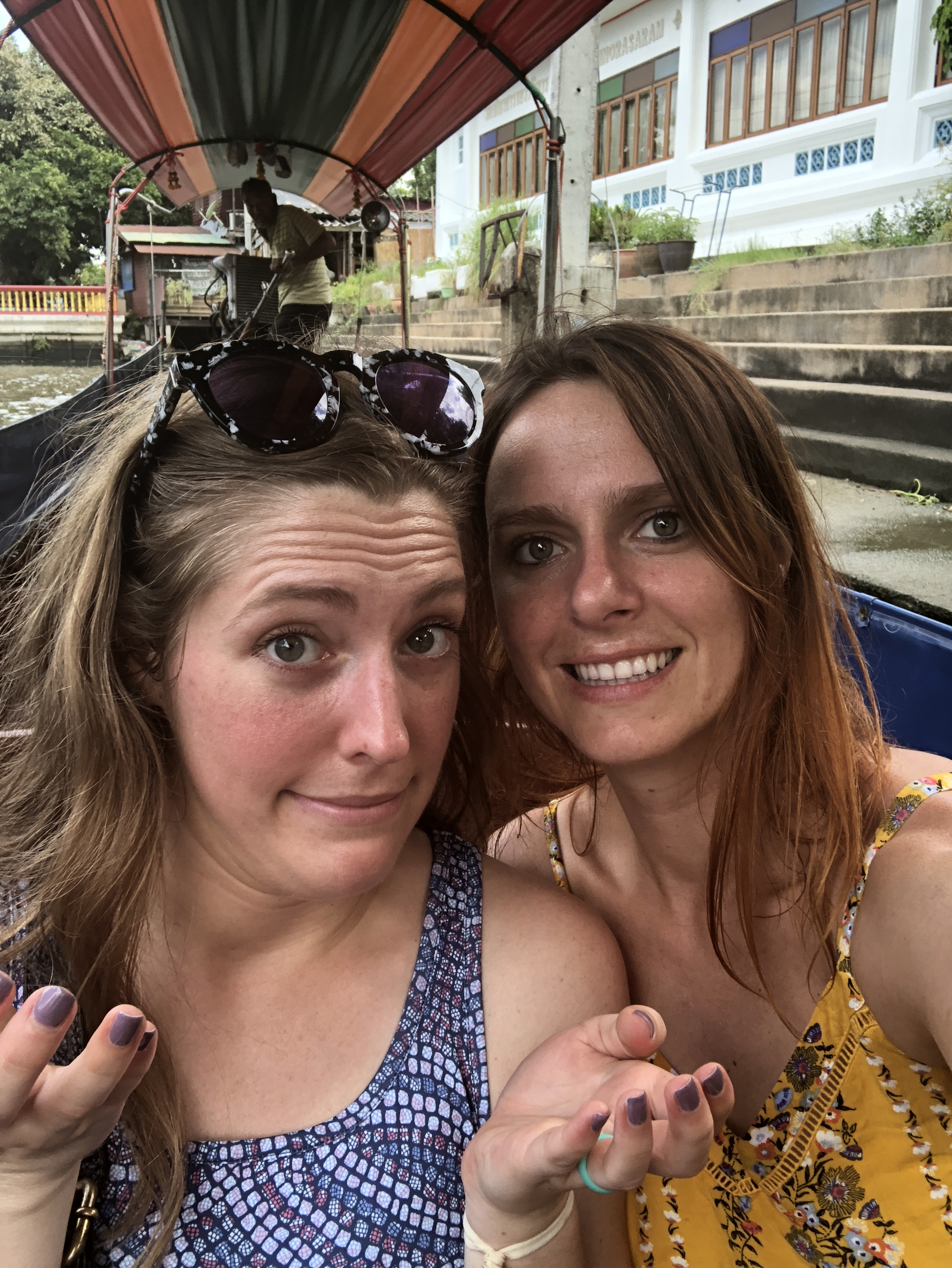 Did we break down mid-boat ride? Yes, yes we did. With the monitor lizards (which look like a cross between a crocodile and an iguana) swimming nearby, it just added to the experience.