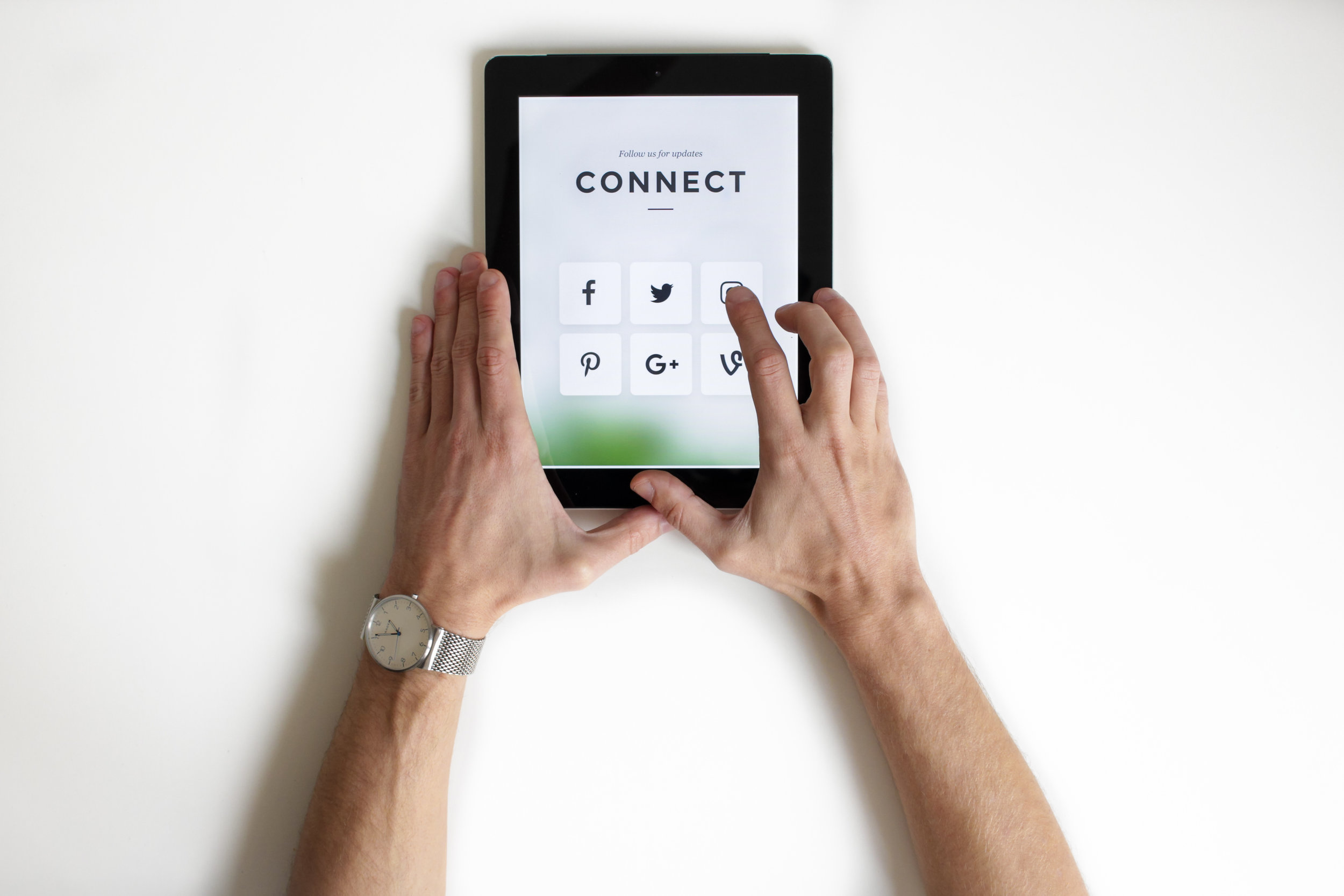 FCG Connects. - Let FCG create or update your online presence. Whether you are looking for daily, weekly, or monthly posts, we will create eye-catching content while sticking to a schedule that suits your needs.