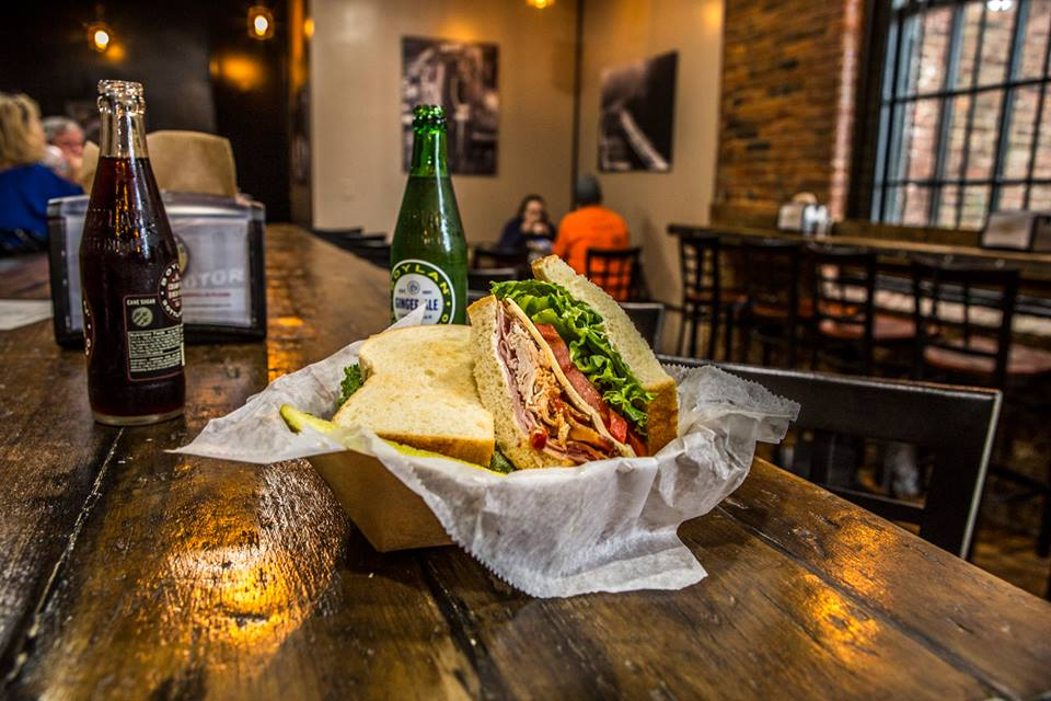 Southern Engine Deli - Southern Engine specializes in sandwiches stacked high with meat, with a menu reflecting that of a deli in New York or Chicago. Guests can also enjoy the railroad inspired decor, or take advantage of sitting directly under the water tower on the back patio.