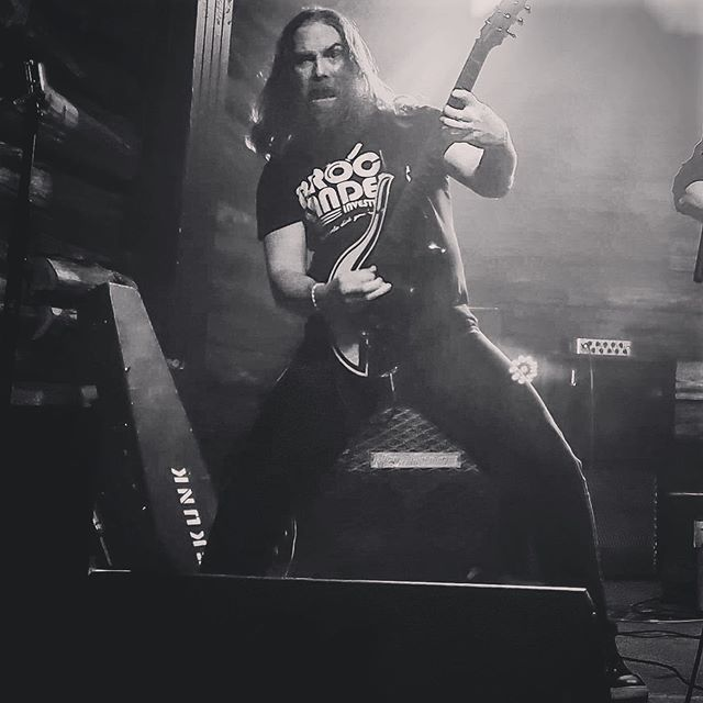 Thanks to everyone who came out to @comeandtakeitlive and donated to help raise #austismawareness  @runescarred @treganguitars @coffincaseofficial 📷  #getscared #runescarred #skunkmanhattan #skunksofinstagram #brocklanders  #beardedfuck #longhair #rocker #treganguitars #customguitar #skunkguitar #guitarist #electricguitar #heavymetal #texasmetal #austinmusician