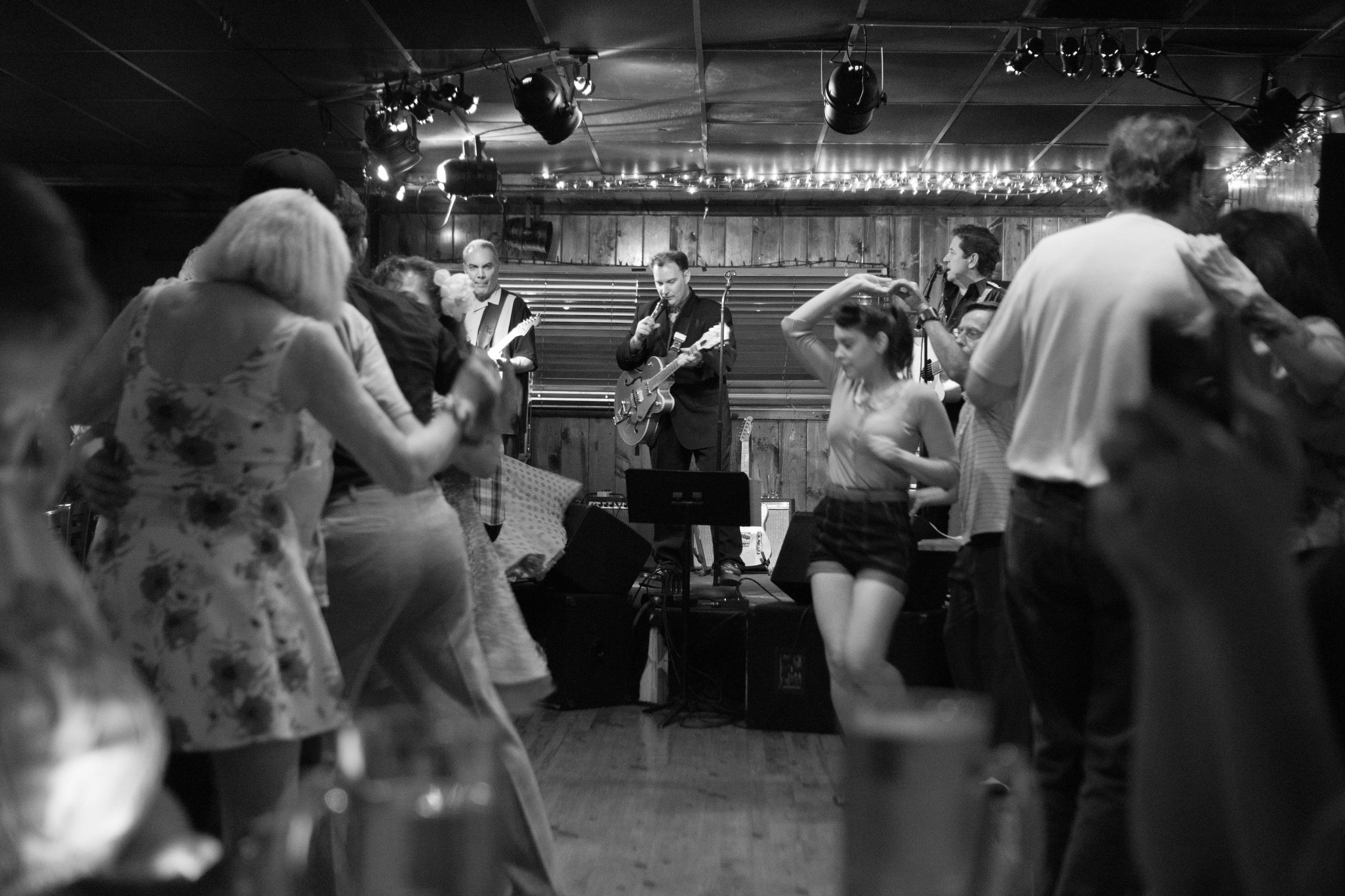 It's all Jazz - I shot this in a swing dance bar somewhere in L.A.