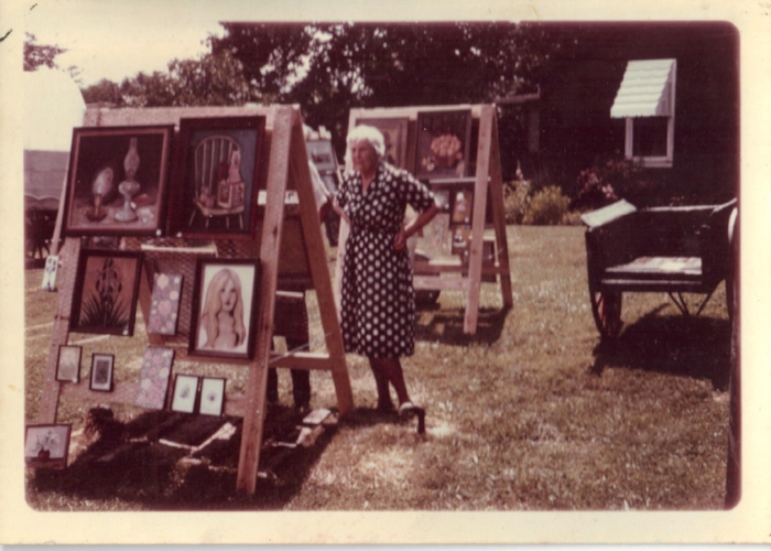 Image from MAG's first art exhibit @ The Hitching Post in Aurora, KY1968